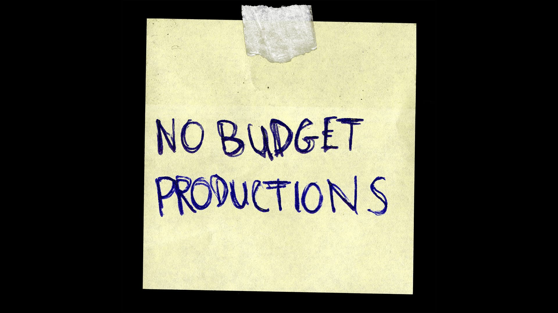 preNoBudgetProductionLogo