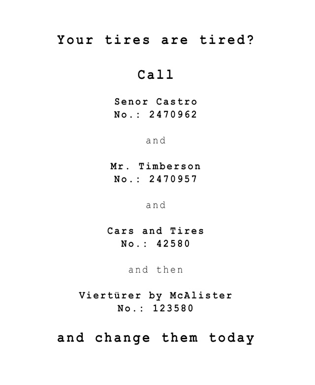 Tired-Tires