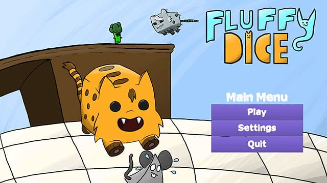 Fluffy Dice Menu