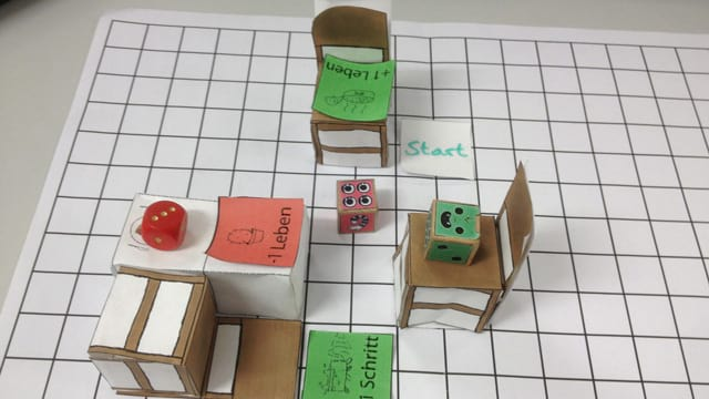 Paper Prototype In-Game